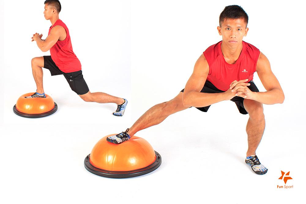 甚麼是 BOSU半圓平衡球/半球/抗力球/健身球