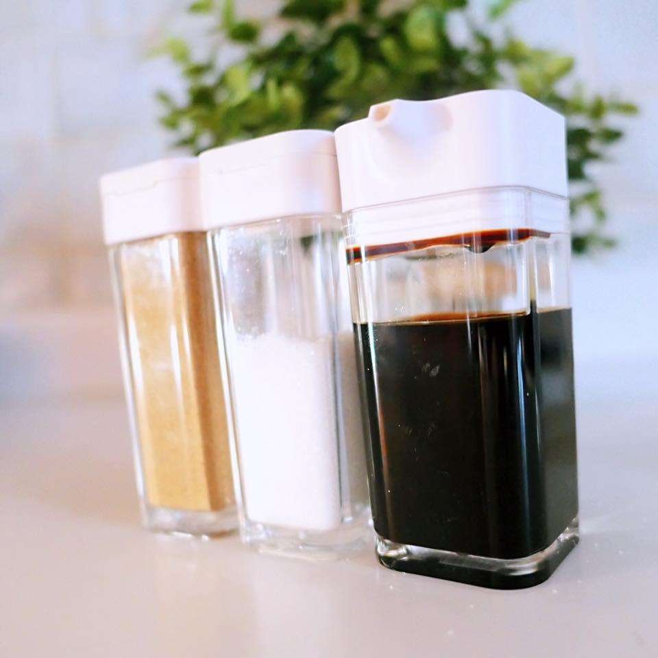 醬油罐,香料罐,調味料罐,廚具收納,廚房收納,YAMAZAKI收納,日本山崎收納,