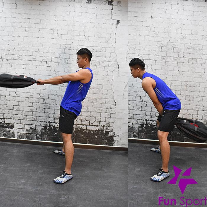 不穩定訓練效益(負重袋重壓袋應用)-擺盪