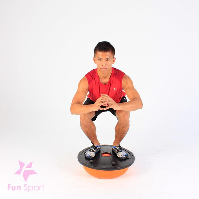 平衡球的平衡訓練