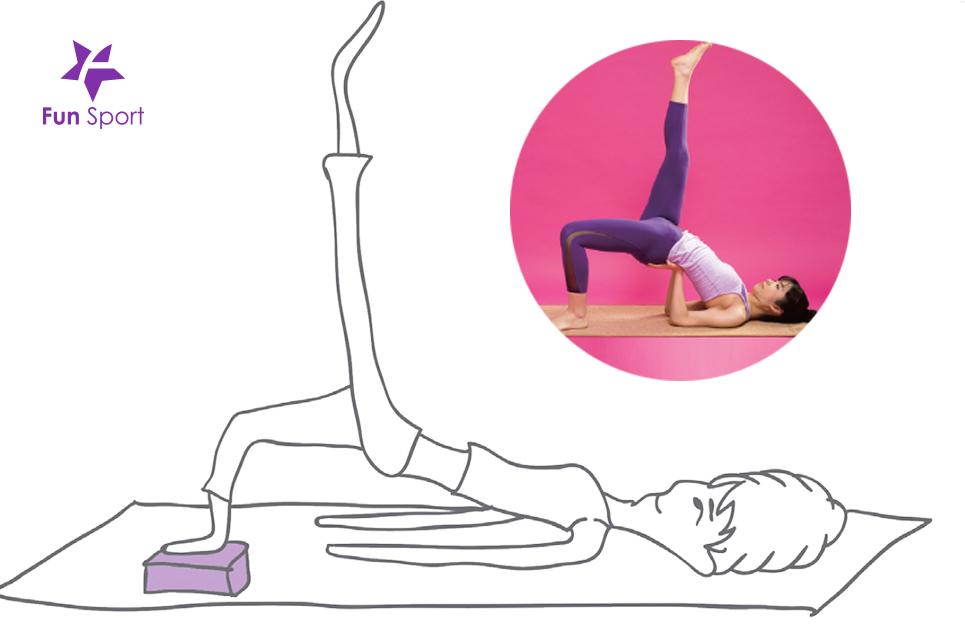 瑜珈練習少不了瑜珈磚的輔助,就差一點無法碰地,瑜珈磚協助你達到練習效果又不受傷!