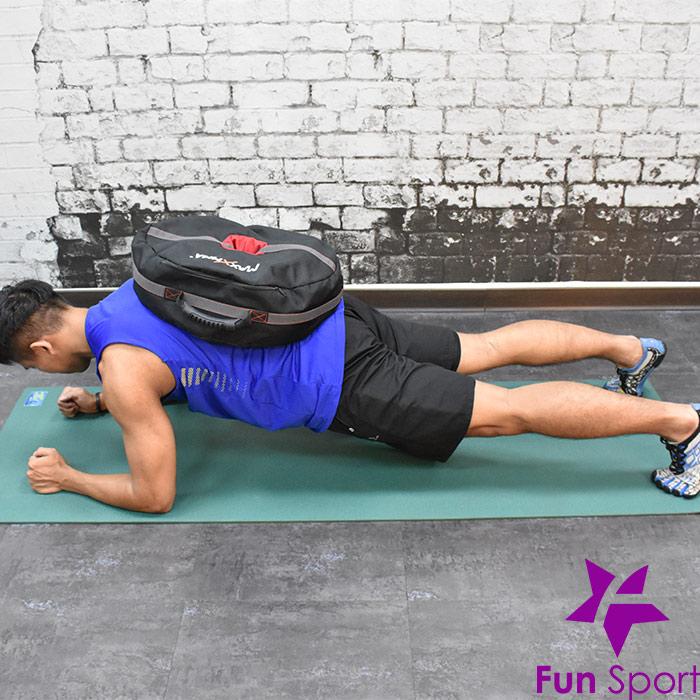 不穩定訓練效益(負重袋重壓袋應用)-棒式