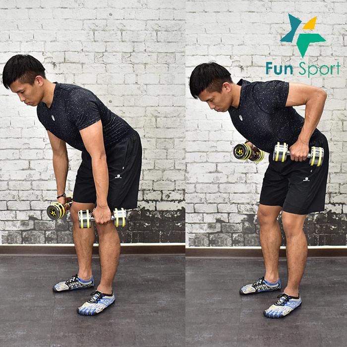 ◆練背部-啞鈴運動◆