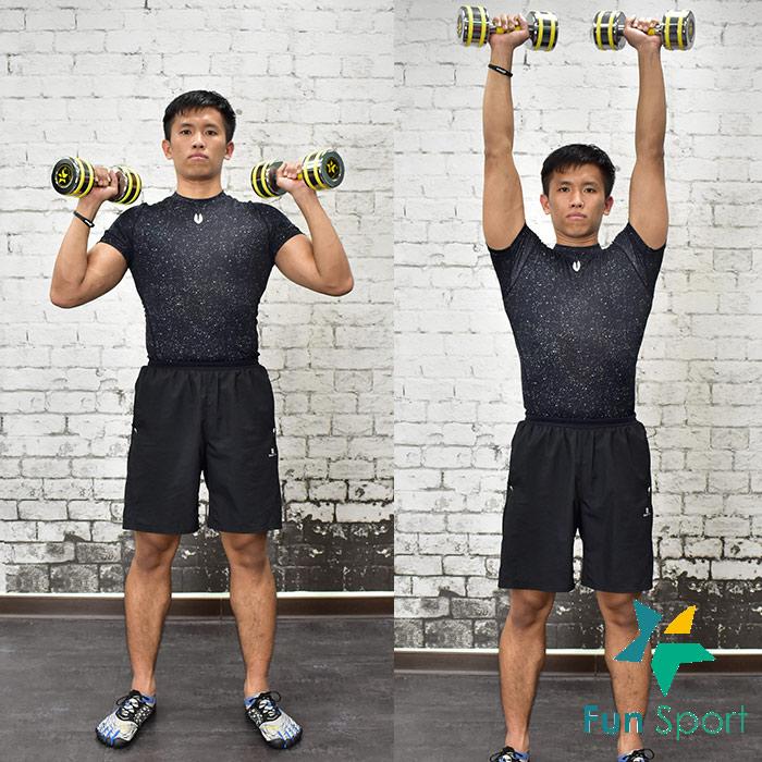 ◆練肩膀-啞鈴運動◆