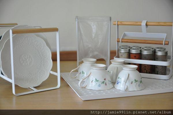 tosca三格盤架,盤架,碗盤收納,瀝水盤,