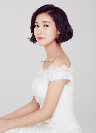 韓式新娘短髮髮型