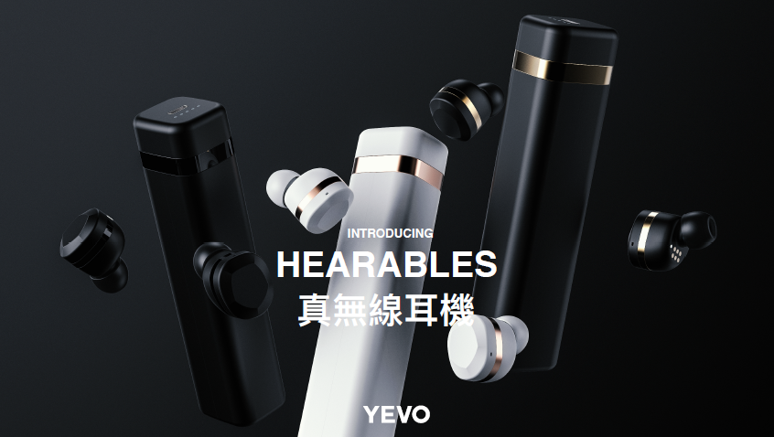 YEVO1 true wireless headphone