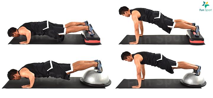 """※ 鍛練功效:能夠鍛鍊胸部,訓練上肢""""推""""的能力,譬如跌倒後撐起來的 動作。"""