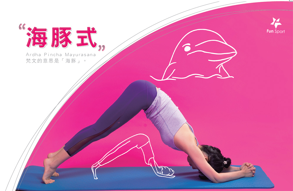告別了肉肉手臂和肥肥腿!海豚式瑜珈(瑜珈墊上玩瑜珈)