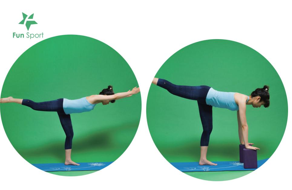 瑜珈磚-戰士