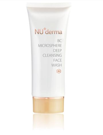 洗臉粉刺減少產品:超微纖深層淨膚乳