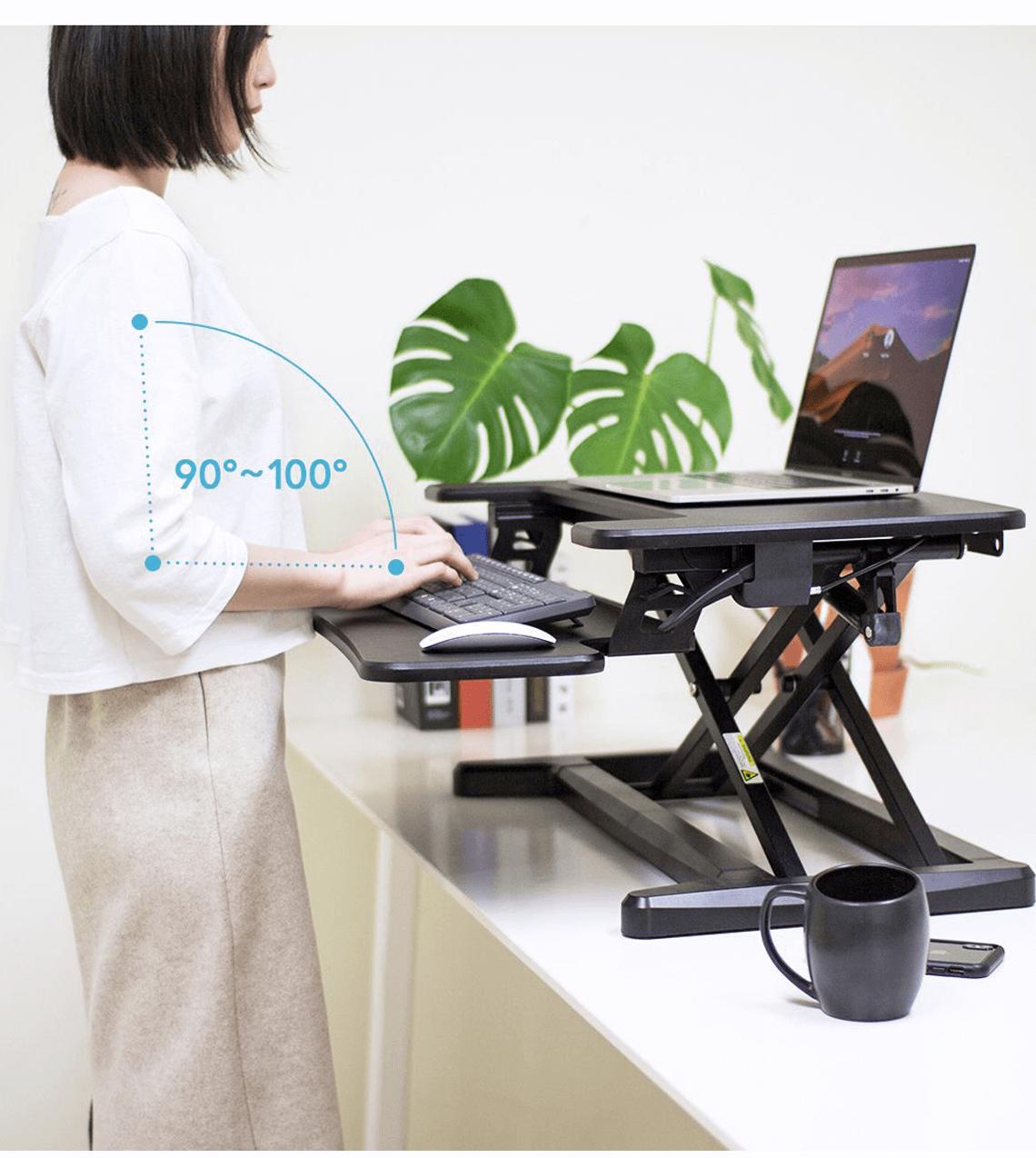 改善久坐問題工具:Flexispot 氣壓式升降工作台