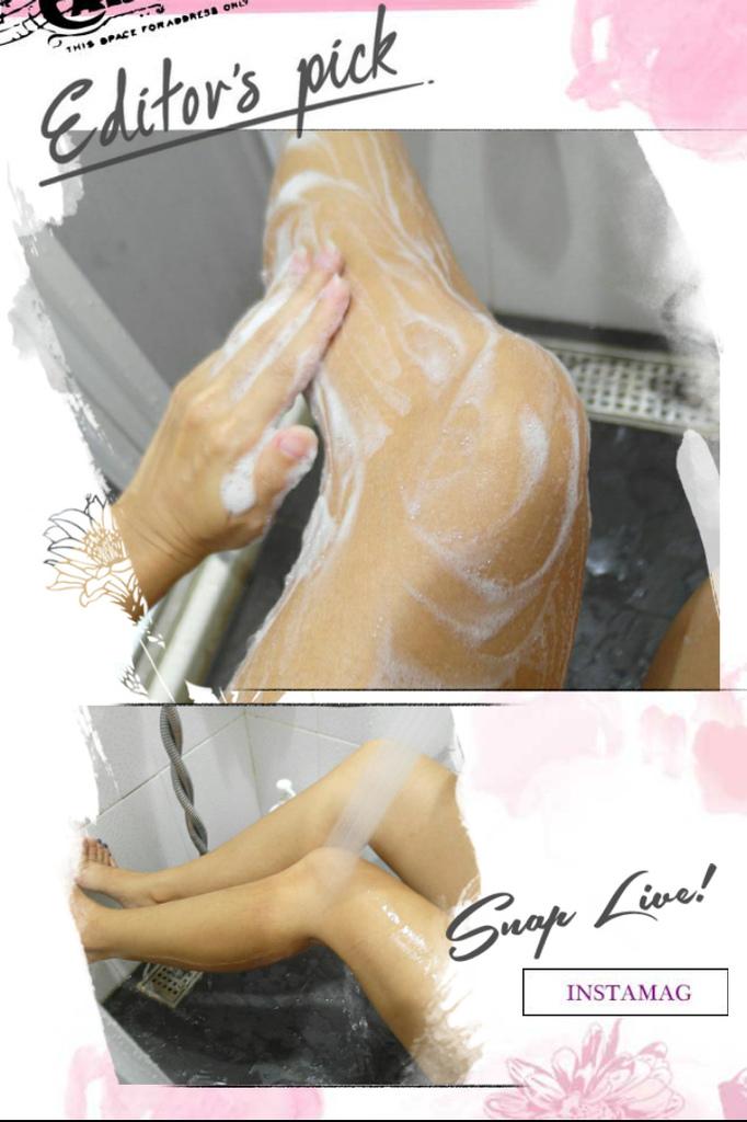 洗完之後,在沖洗的過程中  也很快就沖乾淨了  完全不殘留,也沒有滑滑洗不乾淨的感覺發生  洗完會清爽保濕,肌膚觸感是柔嫩的  享受完舒服的身體草本的淨平衡沐浴露之後  接著就要來處理一下超黏膩頭髮了!     [植研萃 淨平衡洗髮露 480ml]
