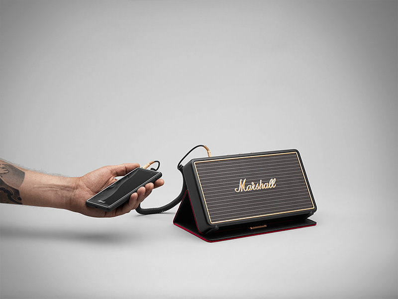 Marshall stockwell portable speaker