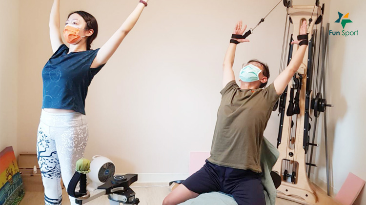 「好時良身」整頓我的身與心..... Gyrotonic脊椎螺旋運動機