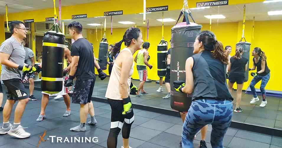 X-Training課程-CV玩家體適能訓練室
