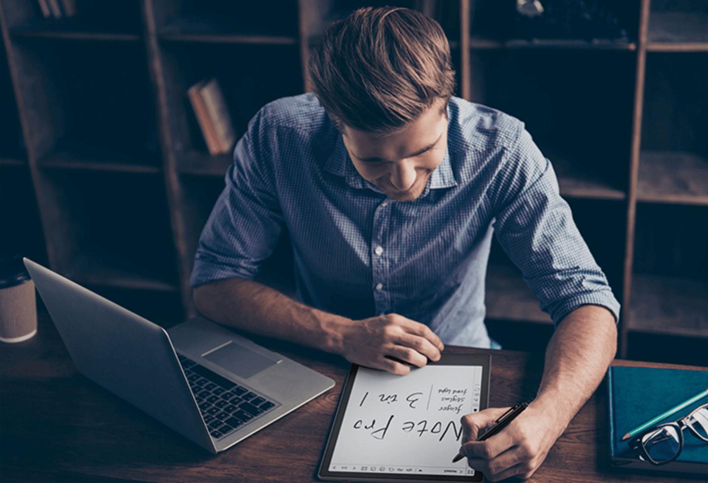 boox 電子閱讀器是比平板還適合做筆記的工具