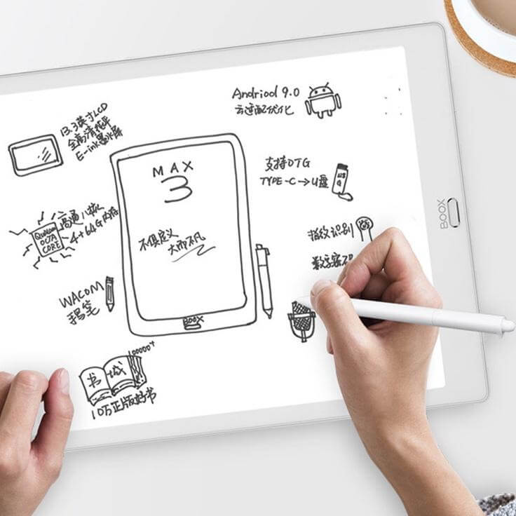 電子書閱讀器android系統支援:文石 BOOX