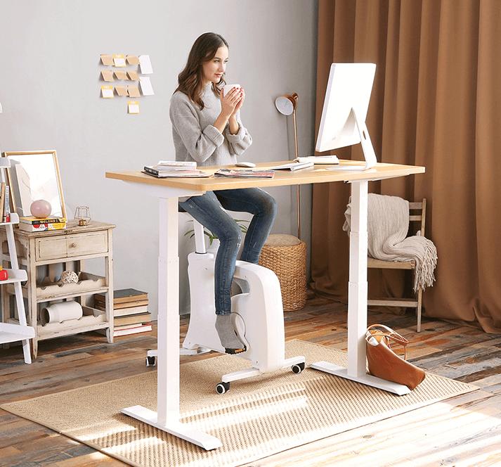 改善久坐問題工具:Flexispot 二段式智慧電動升降桌組