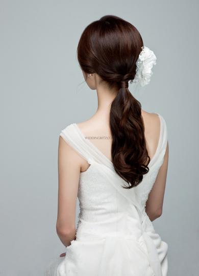 韓式新娘髮型