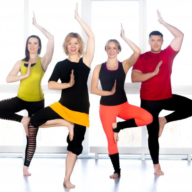 一起來做樹式瑜珈吧~樹式平衡瑜珈!