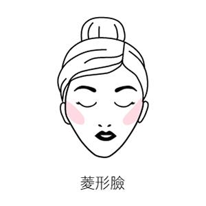 方臉腮紅畫法