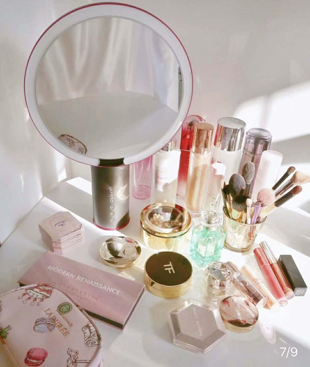 正確化妝步驟不可少AMIRO 美妝鏡
