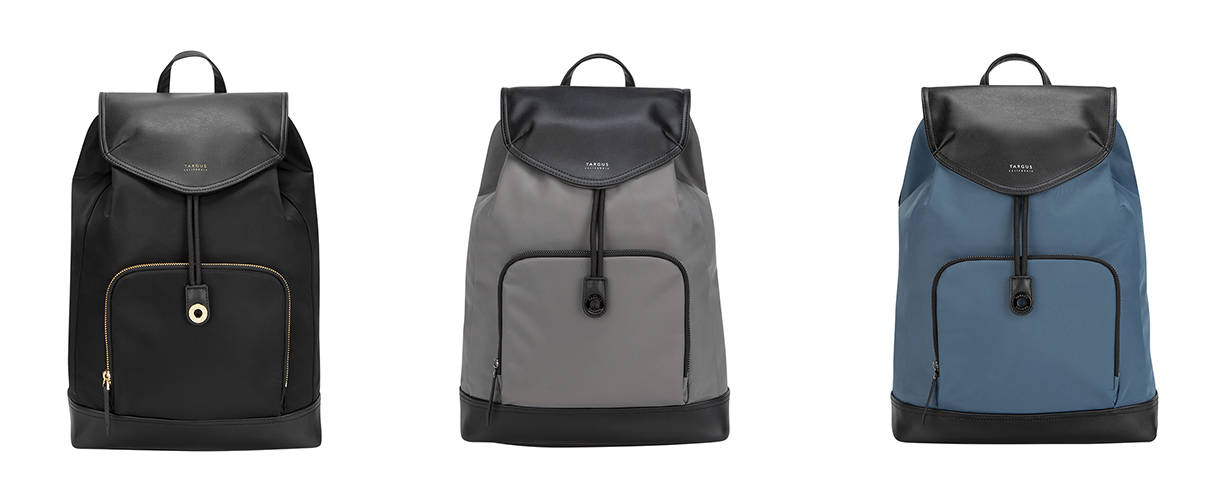 Targus California 旗下的電腦後背包女性專屬款式