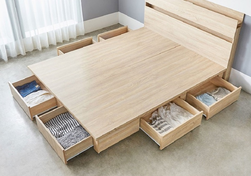 TZUMii 伊芙琳現代風木做系列房間組