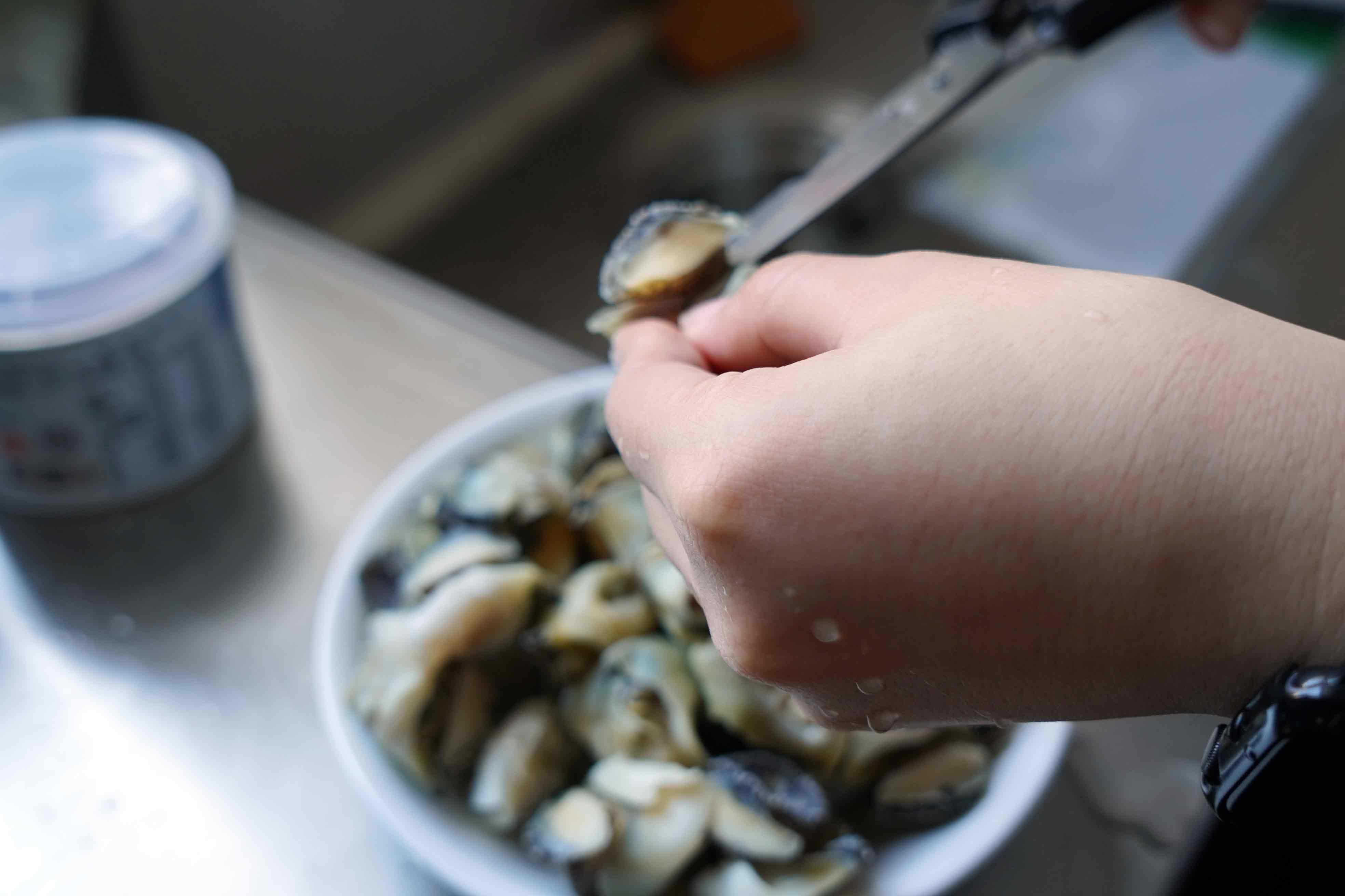 【熱炒在家煮】三杯海螺肉 經典熱炒下酒菜