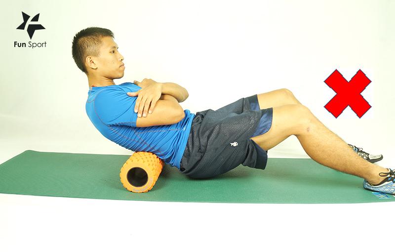 使用運動按摩滾筒(狼牙棒)常見的錯誤