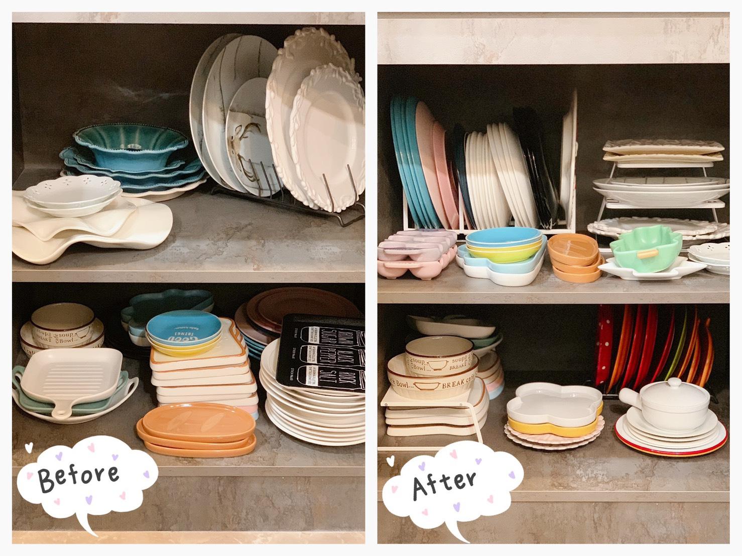 Plate兩用盤架-L 山崎收納 Yamazaki 廚房收納 盤架