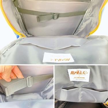 獨角獸鋼彈AGS Pro懸浮減壓護脊書包
