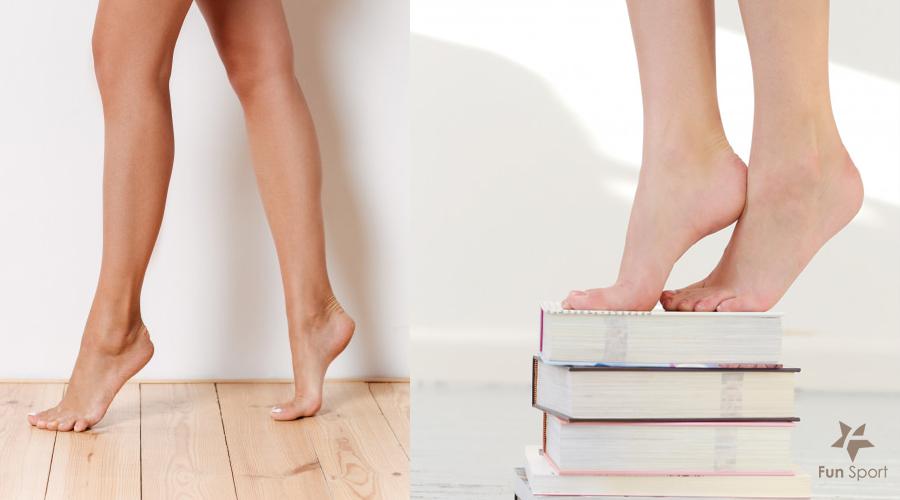 踮腳尖可以瘦身?健腳好處多,沒事來做做...