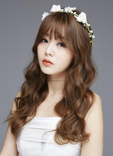 韓式新娘捲髮