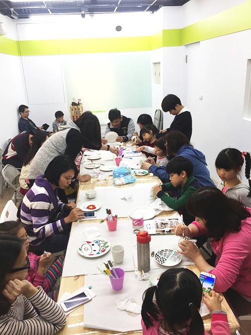 icolor南港陶瓷彩繪課程
