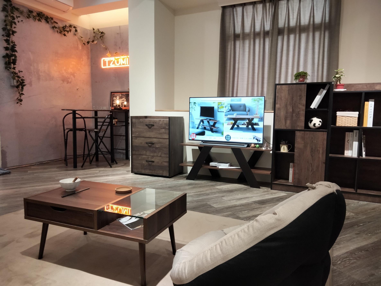 客廳區的設計,代表著生活能夠優雅又Chill。