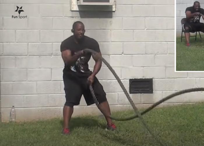 戰繩訓練技能