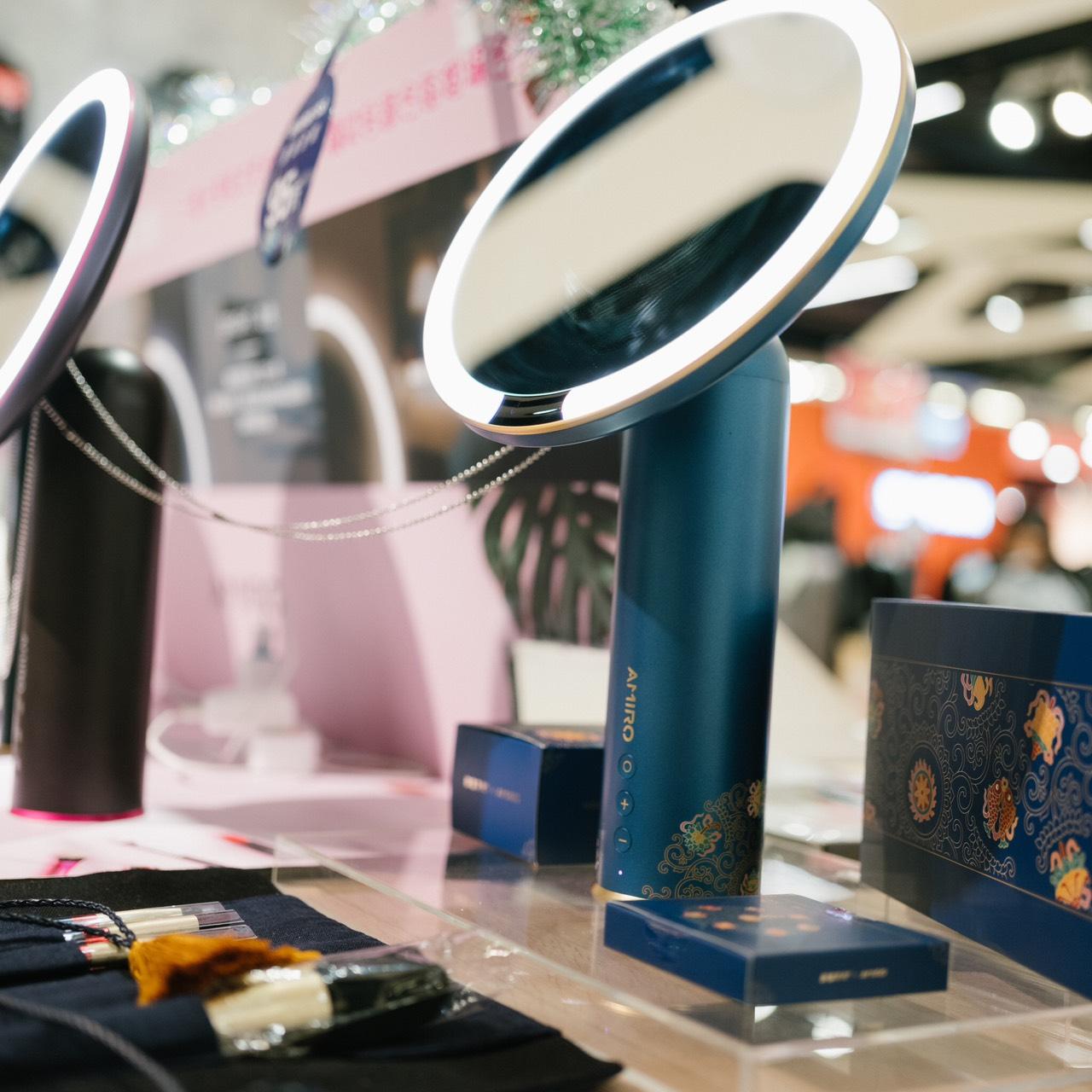 amiro化妝鏡仿自然光