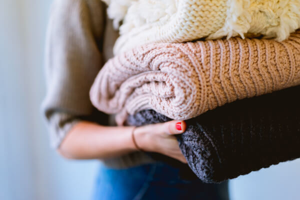 針織衣服的收納方法