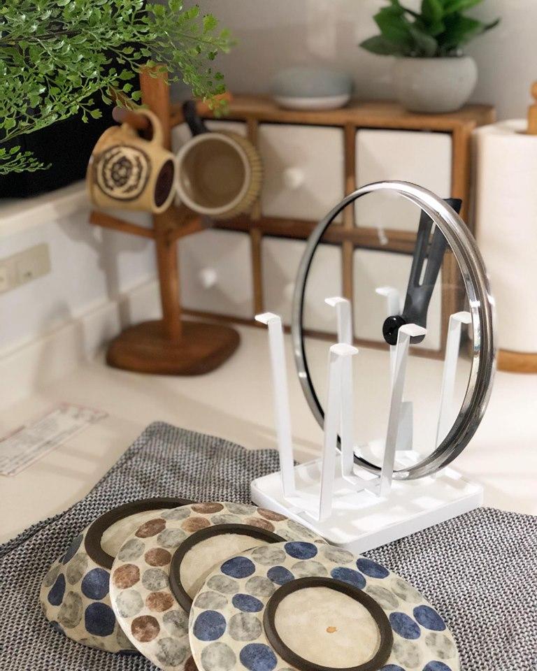 AQUA瀝水杯架,洗碗風景 (笑)