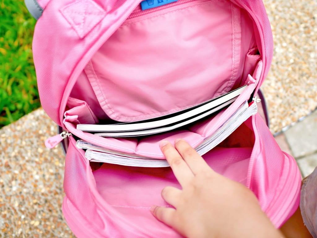 怡寶角落小夥伴新一代成長型輕量護脊書包-粉紅