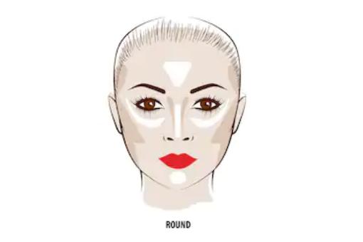 歐美妝容,適合圓形臉的教學推薦