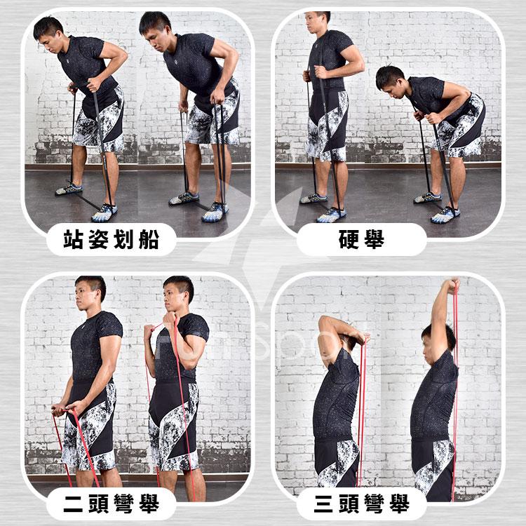 【動作教學】健力環-乳膠環狀阻力環彈力帶(彈力圈)