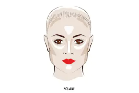 歐美妝容,歐美妝容,適合方形臉的教學推薦