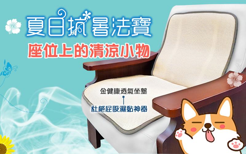 辦公室涼爽小物-透氣坐墊