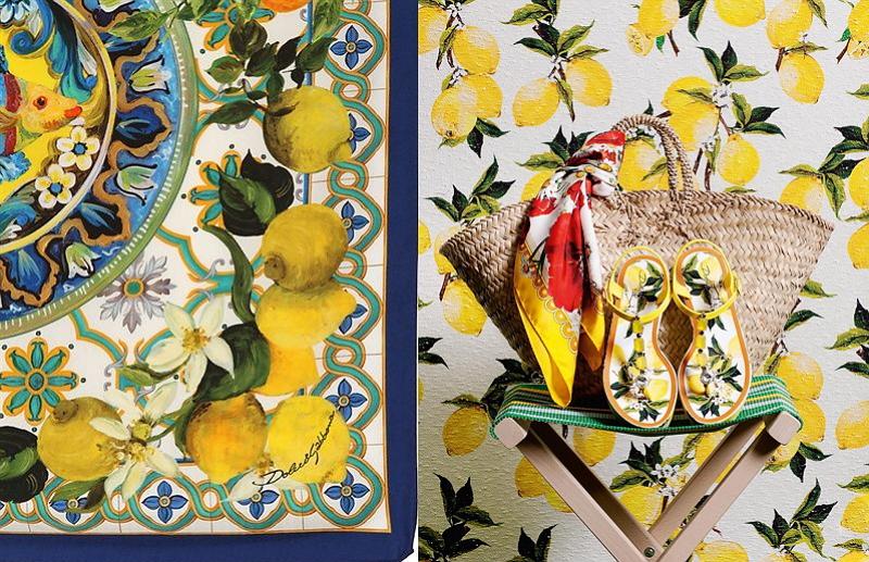 檸檬絲巾成為西西里女人經典的穿著之一