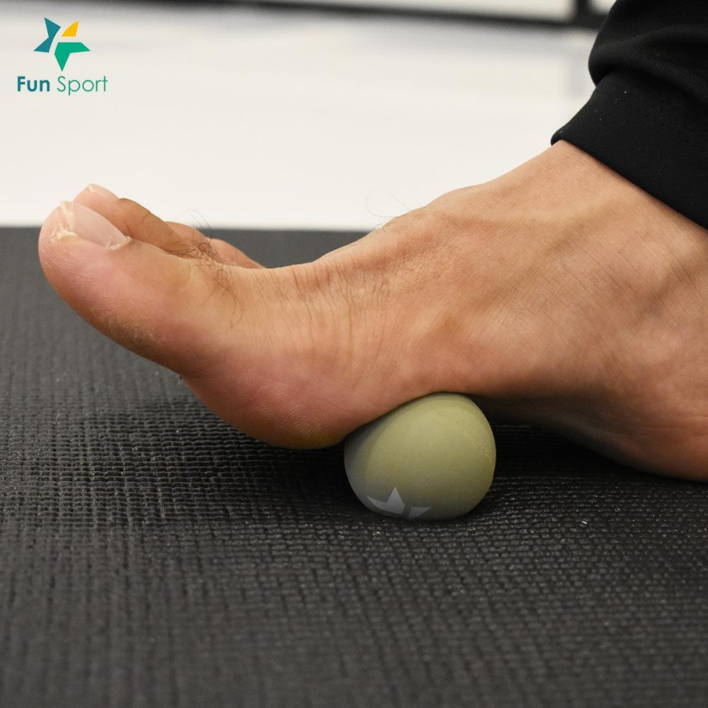 雷力斯-肌筋膜按摩球(4.2cm-50D)(文青灰)-FunSport