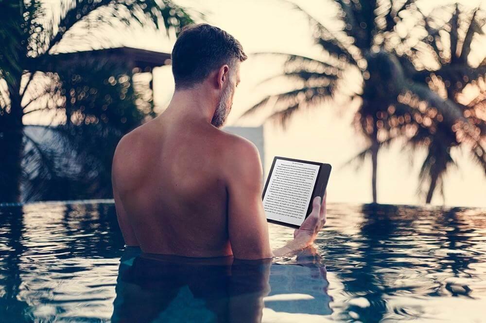 特殊功能電子書閱讀器:防水
