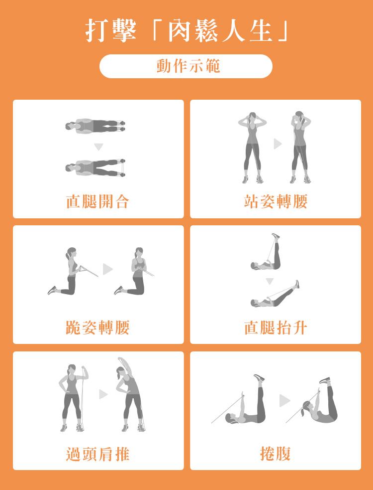 彈力帶是您最好的健身夥伴!